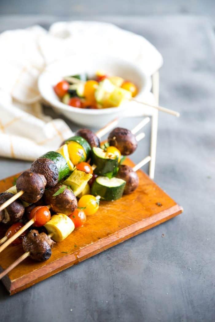 easy vegetable kabobs