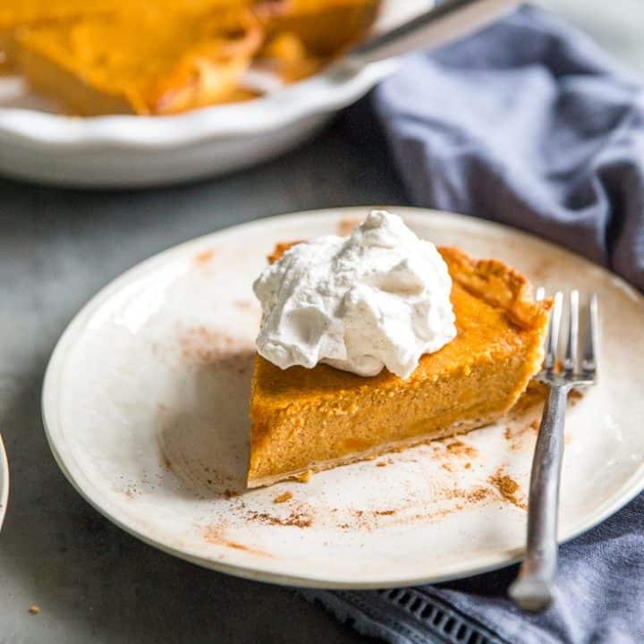 Homemade Sweet Potato Pie Recipe