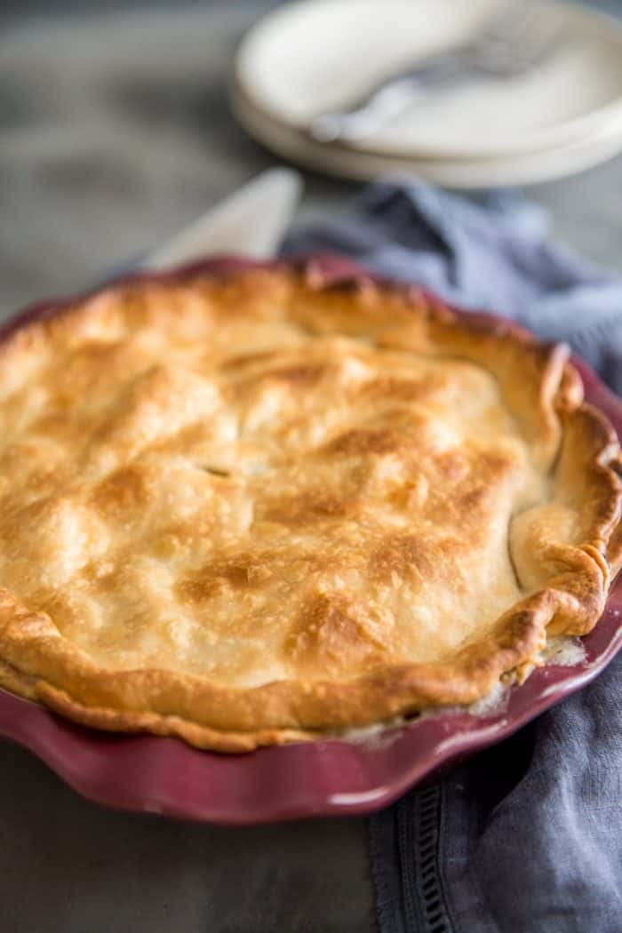 Turkey pot pie recipe whole