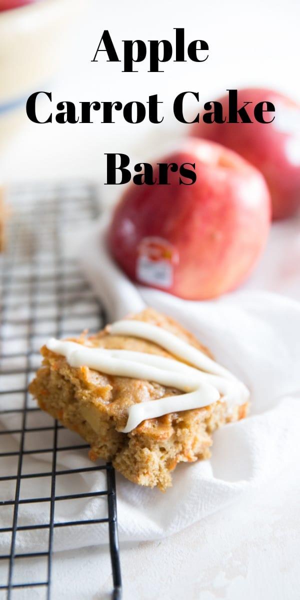 apple carrot cake bars title