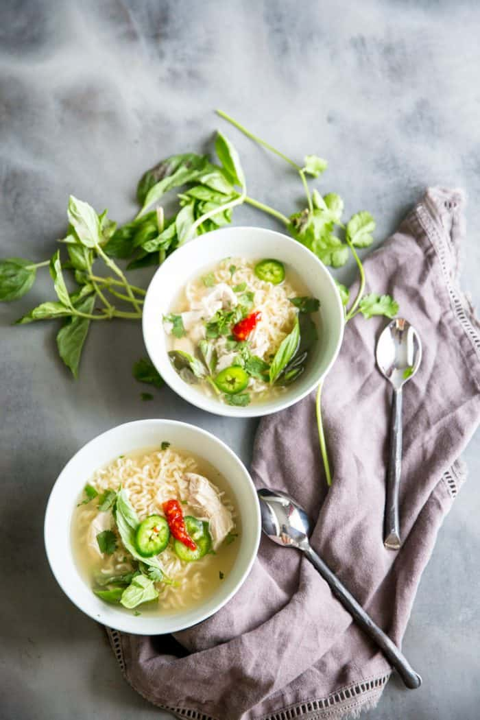 Serve alongside this Spring Roll in a Bowl!