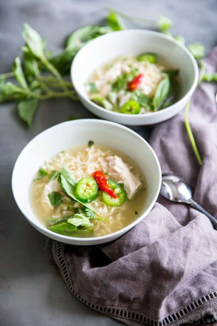 How To Make Chicken Pho In A Slow Cooker