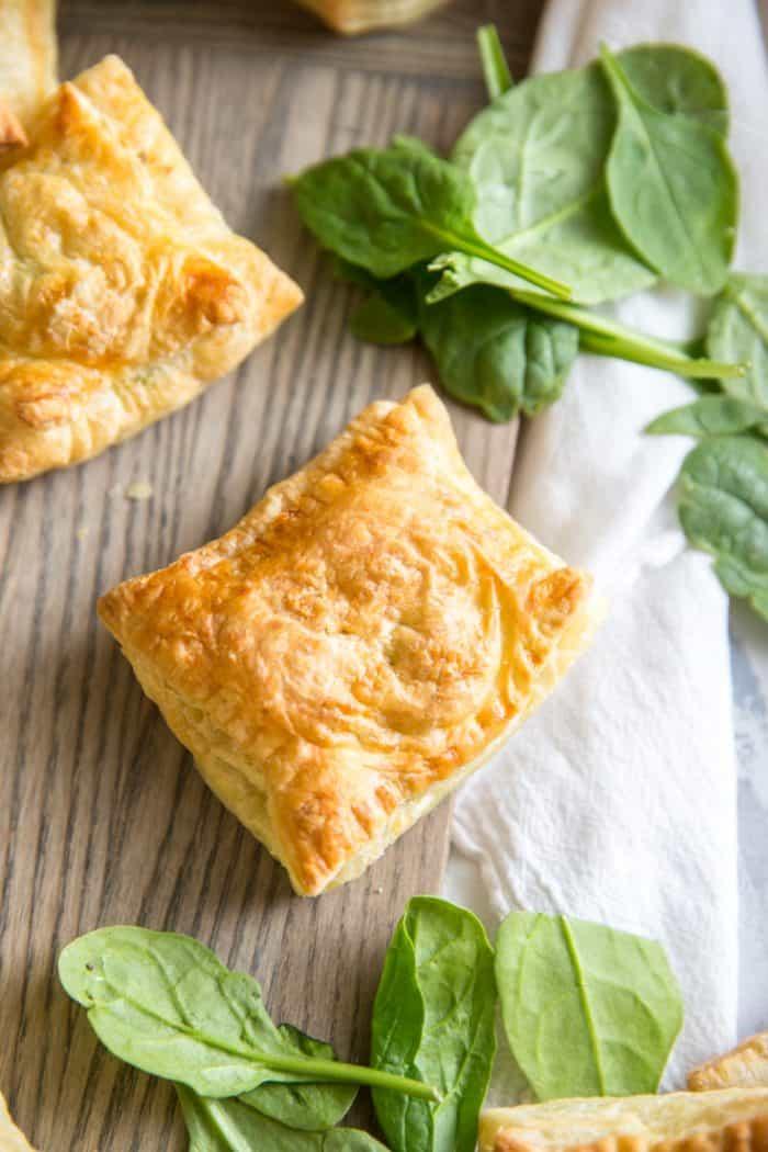 Spanakopita hand pies