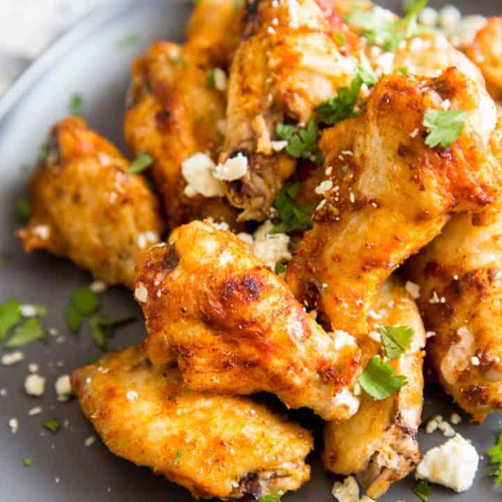Cajun Dry Rub Chicken Wings