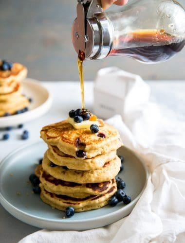 quinoa pancake recipe with sryup
