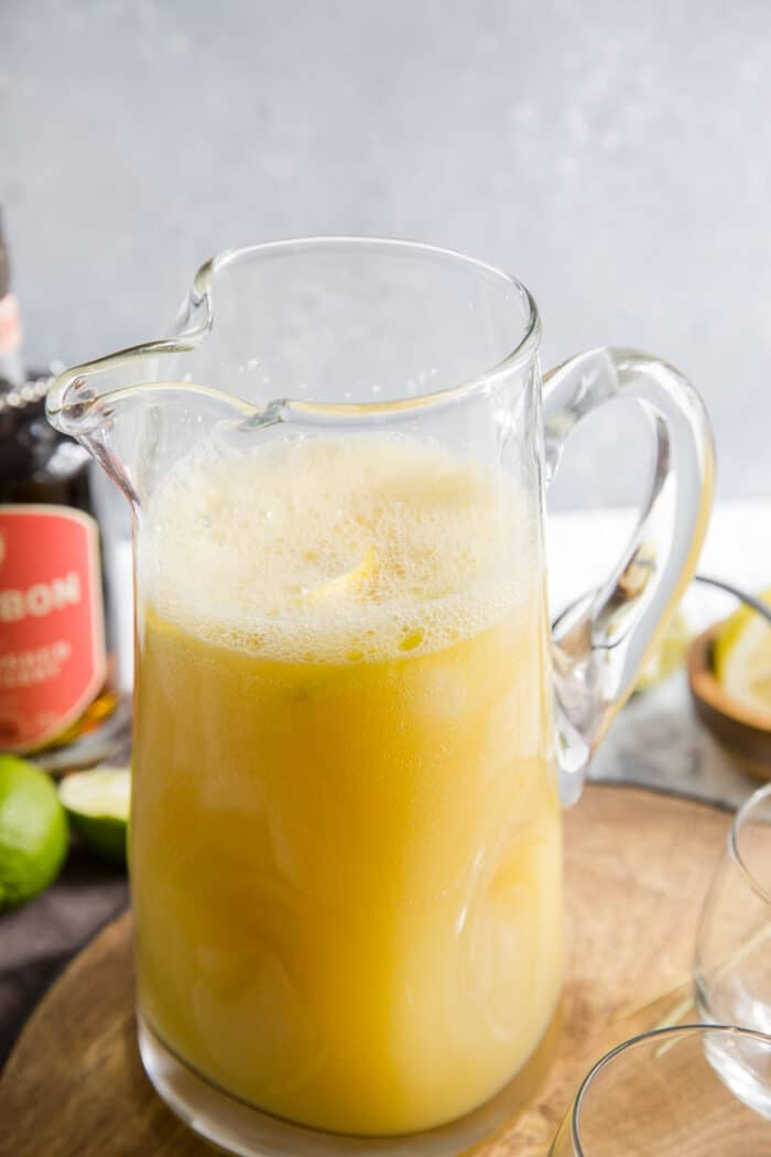 whiskey sour pitcher