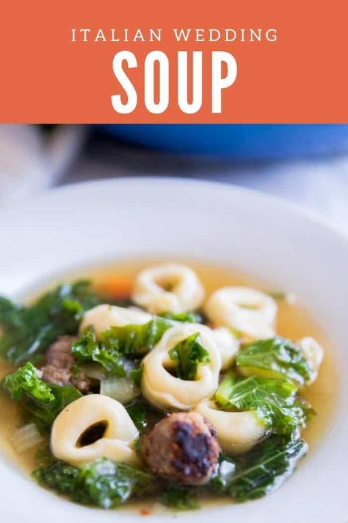 Italian wedding soup title image