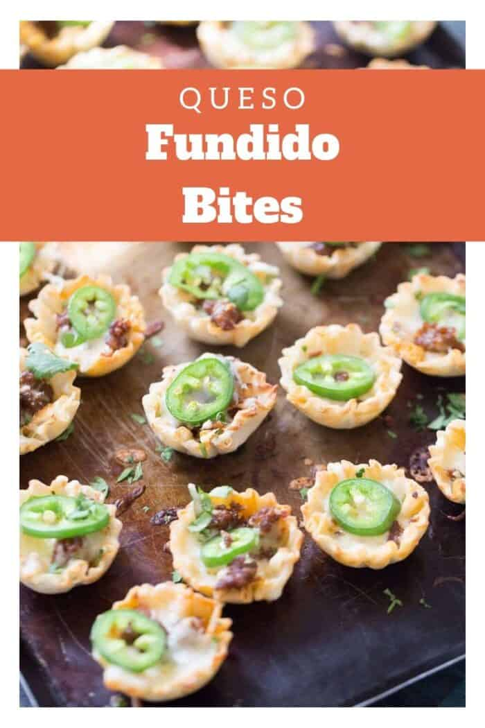 Fundido bites title image