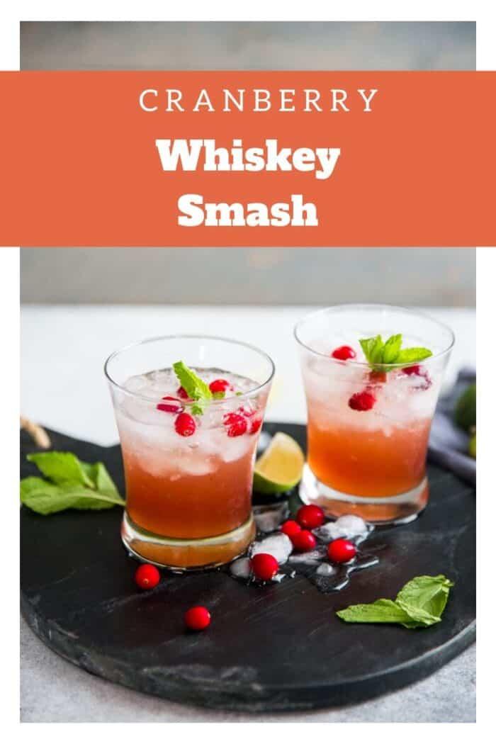 Whiskey smash title image