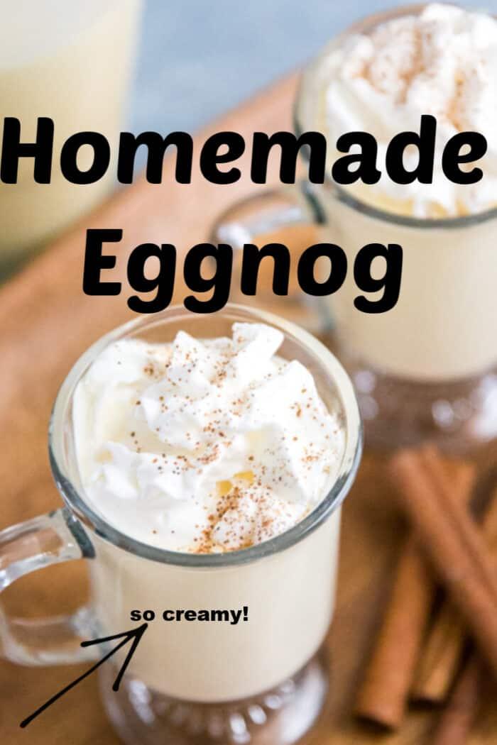 eggnog recipe title