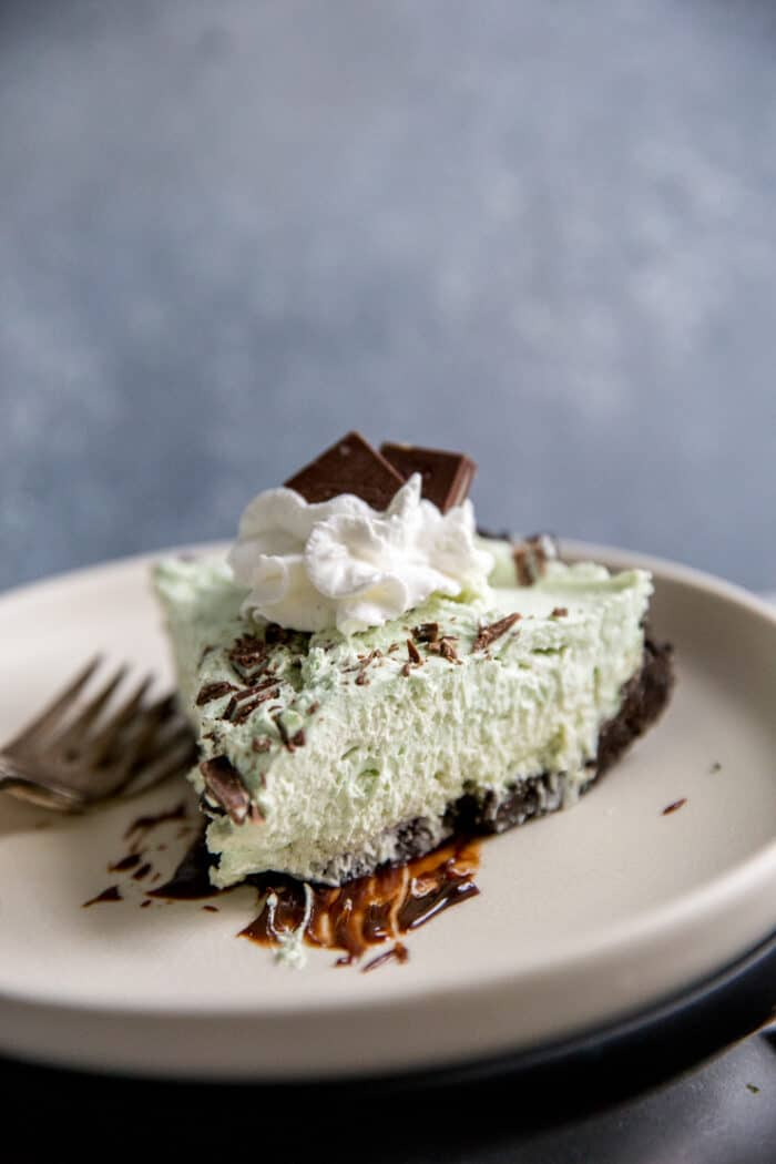 grasshopper pie slice