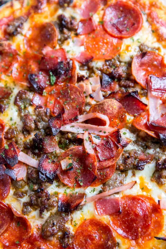 Italian pizza toppings