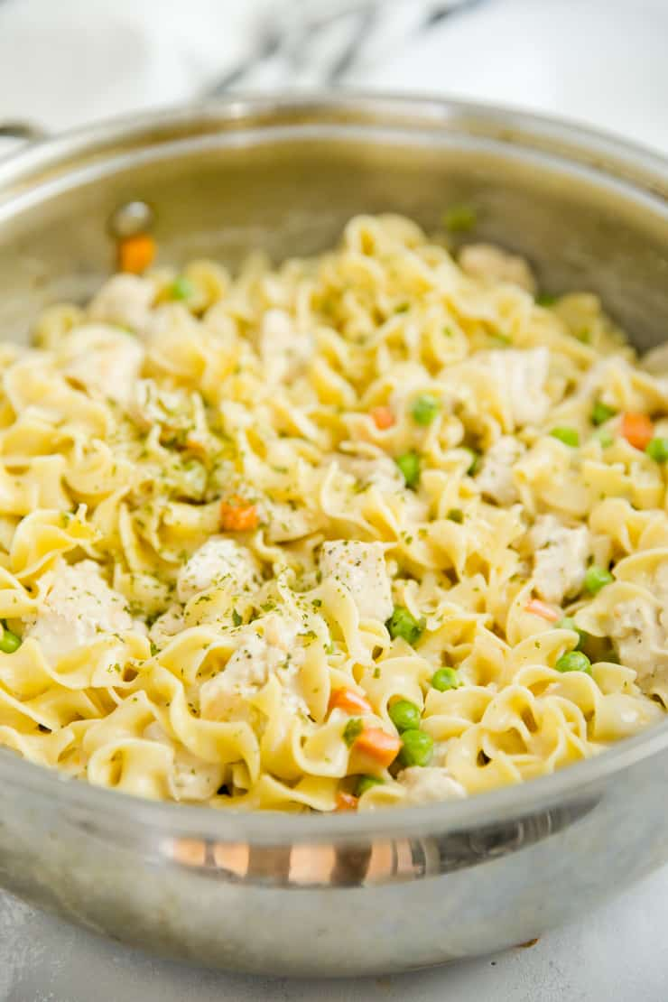chicken noodle casserole with egg noodles