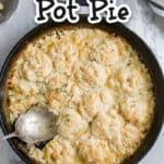 chicken pot pie title photo