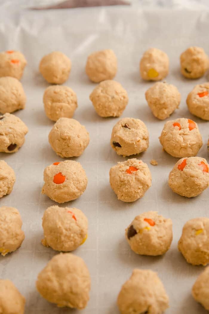 plain peanut butter balls