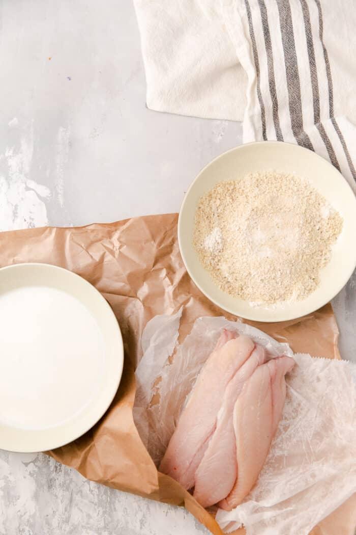 ingredients to fry catfish