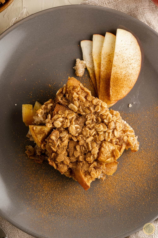 apple crisp recipe with oatmeal