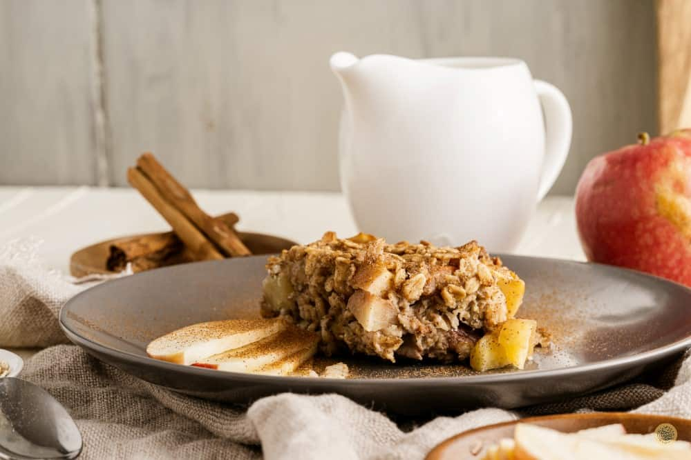 How to serve Apple Baked Oatmeal