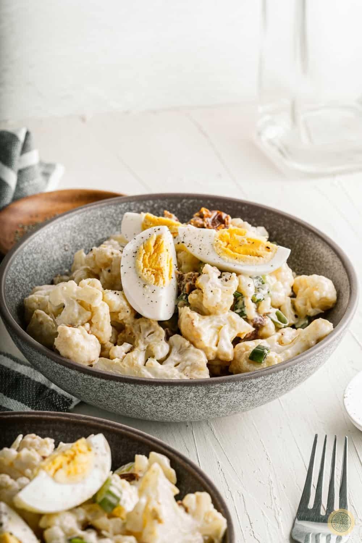 cauliflower salad with eggs