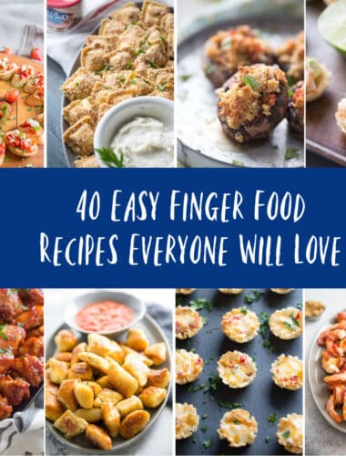 finger food ideas