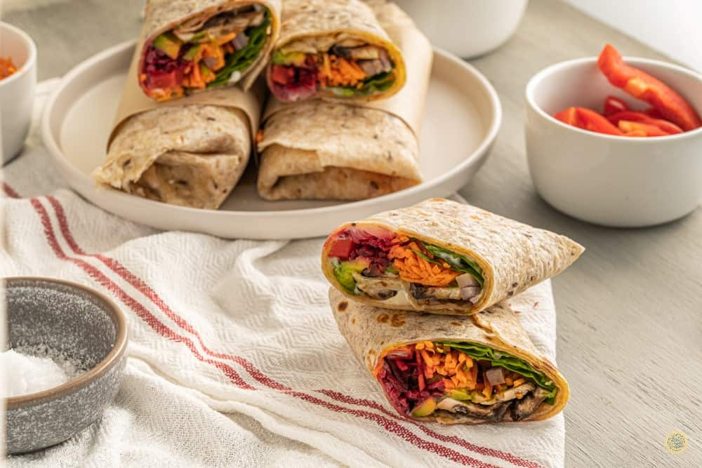 vegan wrap recipe
