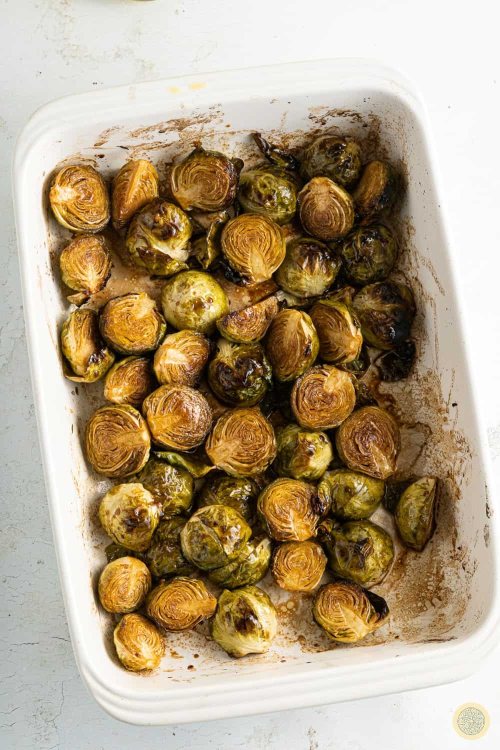brussels sprouts backed