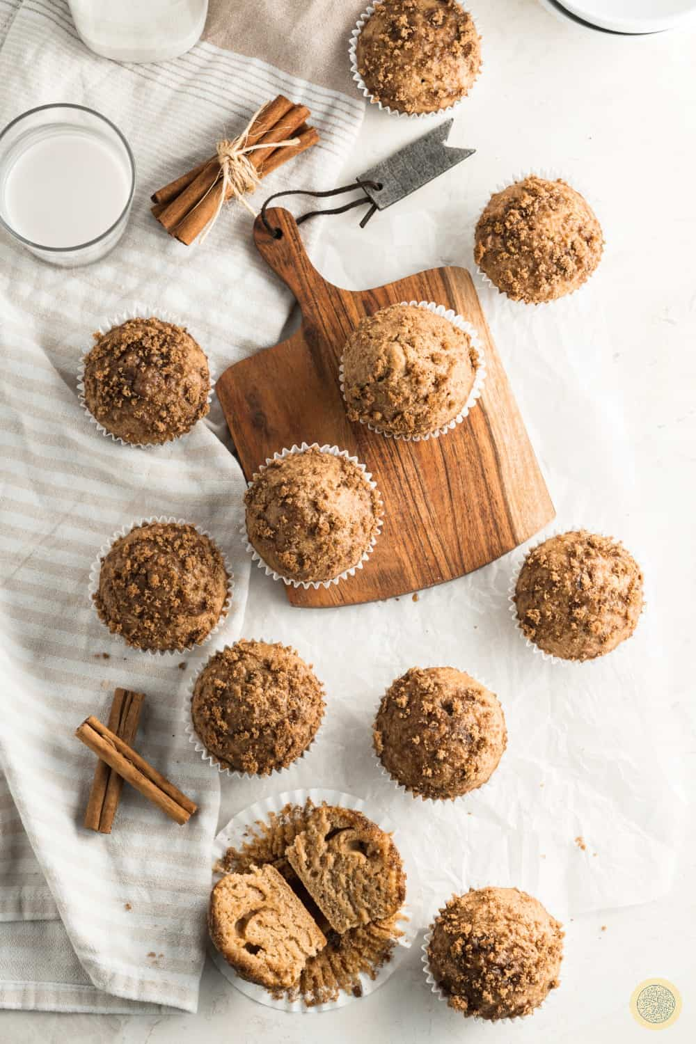 These muffins will do best when stored in an airtight container