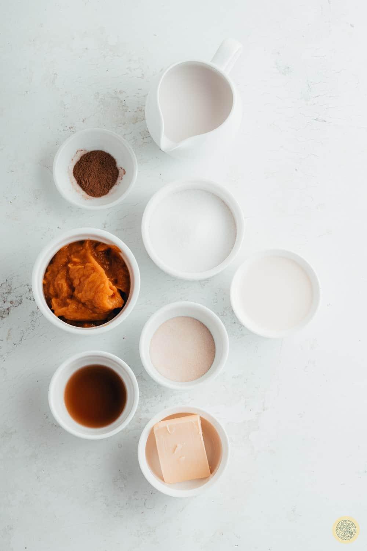 Pumpkin Panna Cotta Recipe Inredients