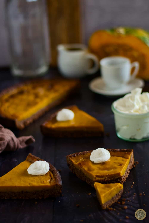 Salted Caramel Pumpkin Pie Recipe
